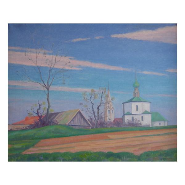 Premyls Netopyl, Church in Suzdal