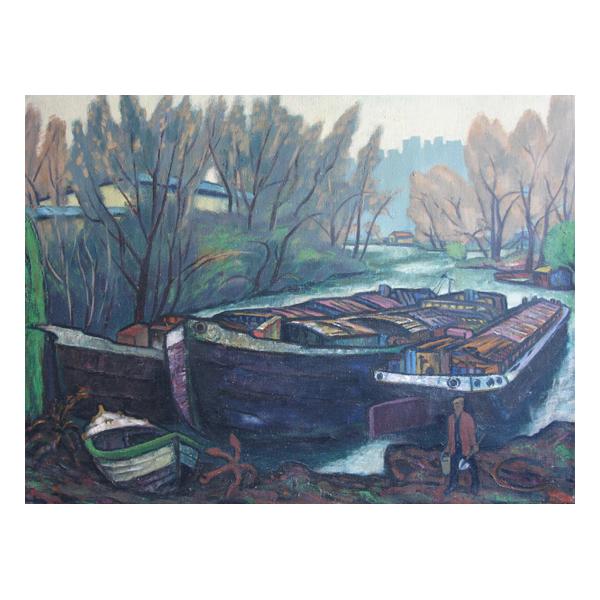 Zbynek Kucera, Barges into a boat yard