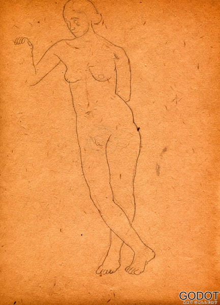 From the sketch album of nudes II
