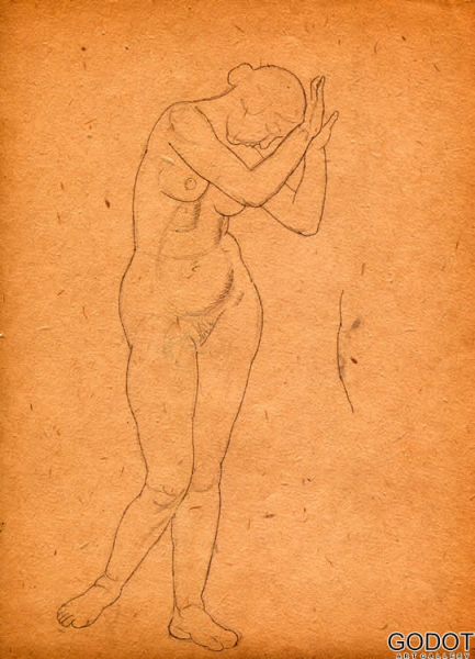 From the sketch album of nudes III