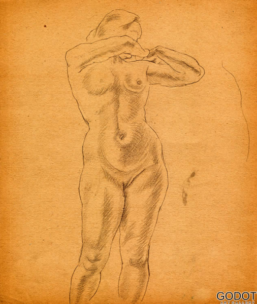 From the sketch album of nudes IV