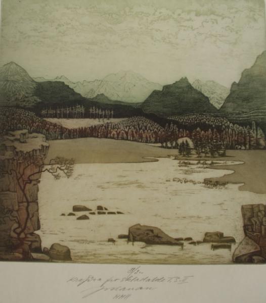 Mountians landscape