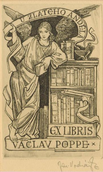 Ex libris Vaclav Poppe