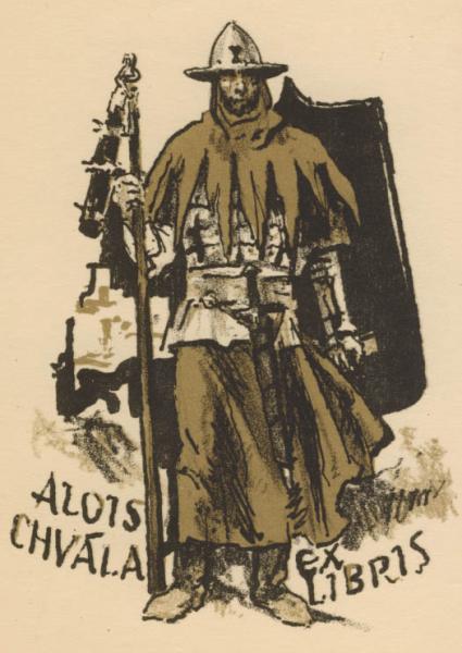 Ex libris Alois Chvala