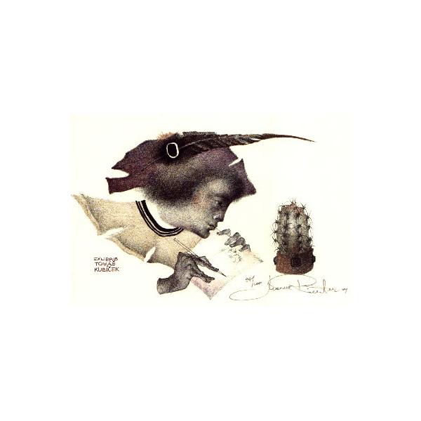 Cactus (Exlibris Tomas Kubicek)